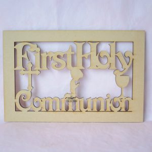 First Holy Communion Box Topper